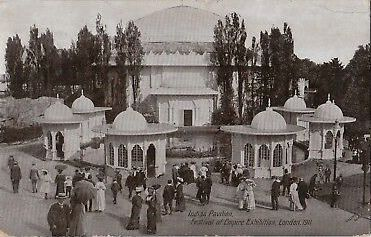 Indian-Pavilion-Festival-Of-Empire-Exhibition-PPC-1911